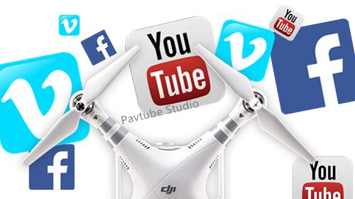Upload DJI Phantom 4 4K video to YouTube