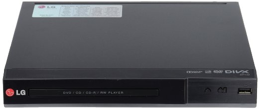 DVD player with USB port