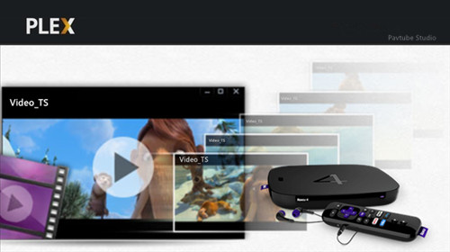 Play Video_TS on Roku 4 via Plex