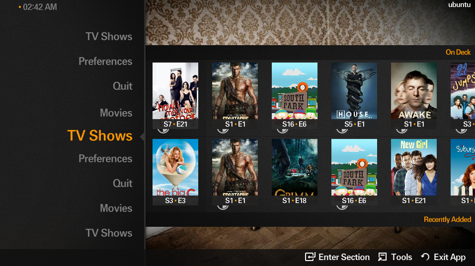 Plex for Sony Bravia 4K TV