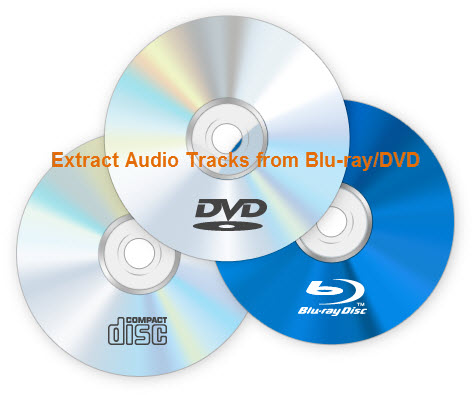 Remove audio tracks from Blu-ray/DVD