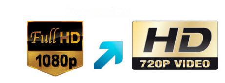 Convert 1080p to 720p