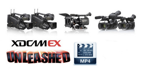 How to import sony xdcam ex mp4 to final cut pro 6/7/x.