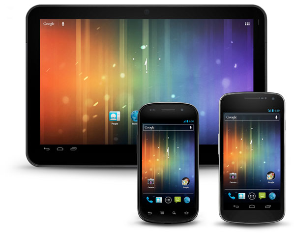 Android phone tablets