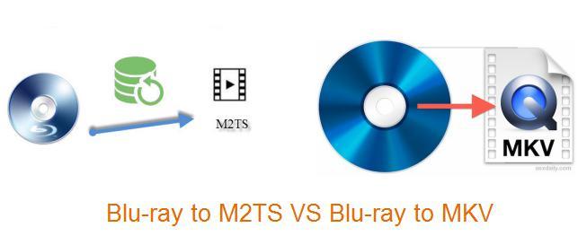 Blu-ray to M2TS vs Blu-ray to MKV