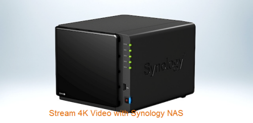 Backup and Stream 4K Video with Synology NAS