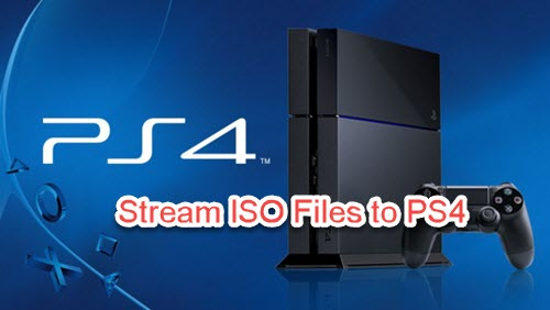 Strream iSO Image files to PS4