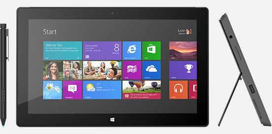 Surface Pro tablets