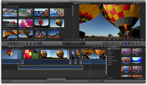 Final Cut Pro X Supported Media Formats