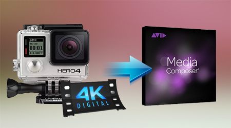 Edit GoPro Hero 4K with Avid Media Composer