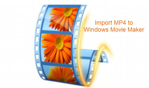 Import MP4 to Windows Movie Maker