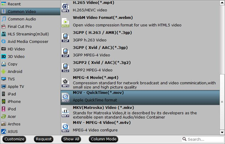 Output Camtasia Studio supported file formats