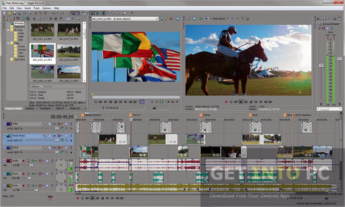 video editing software free sony vegas