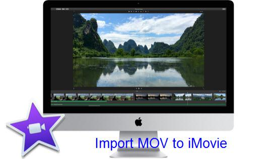 Import MOV to iMovie