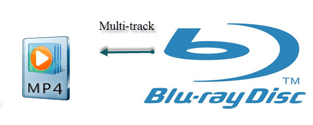 Blu-ray to Multi-track MP4
