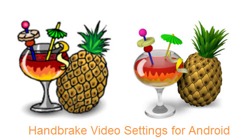 Handbrake Video Settings for Android
