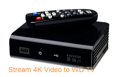 Stream 4K Video to WD TV