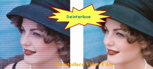 Deinterlace interlaced video