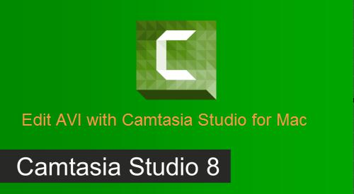 Edit AVI files with Camtasia Studio for Mac