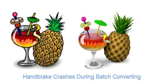 Handbrake Crashes During Batch Conversion