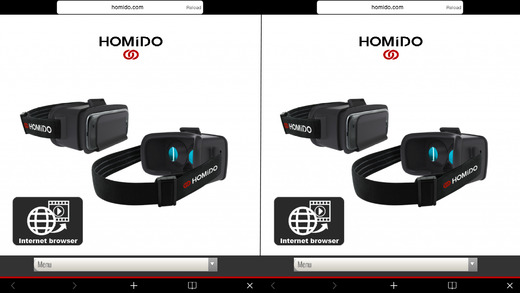 Homido 360 VR Player