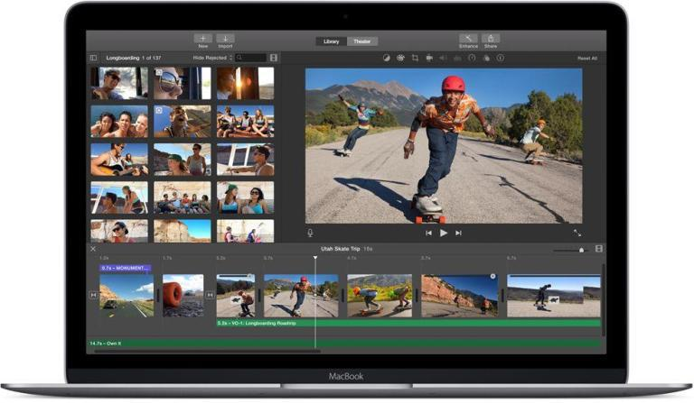 how to add clips to imovie trailer