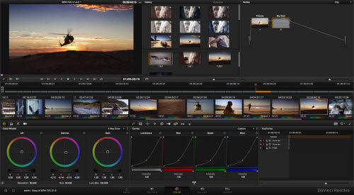 Import 4K video to Davinci Resolve
