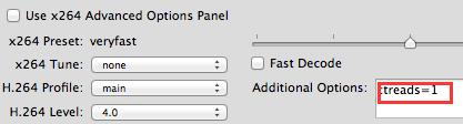 Less CPU usage on Mac