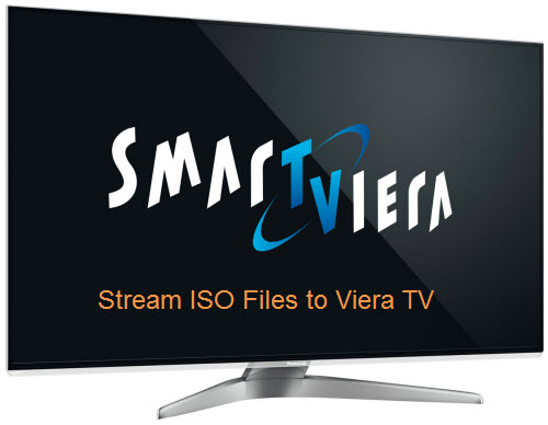 Stream ISO files to Panasonic Viera TV
