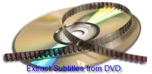 Extract SRT Subtitles from DVD Movies