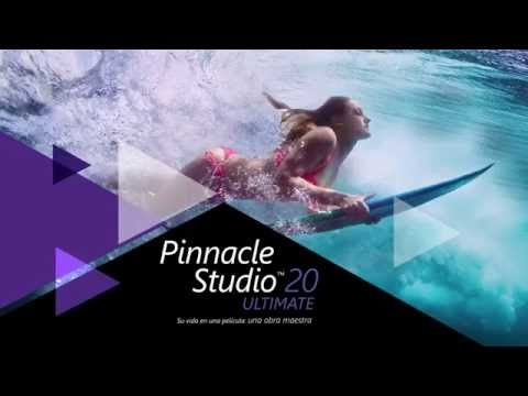 Pinnacle Studio 20 supported file formats