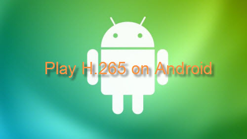 Play H 265 Video on Android