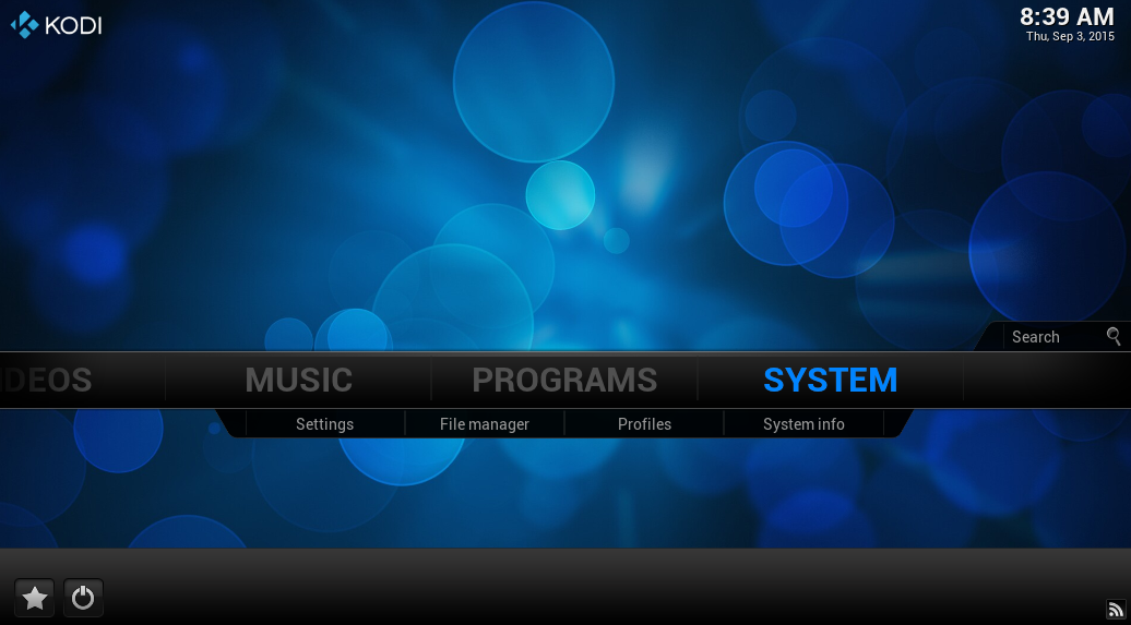 Select system