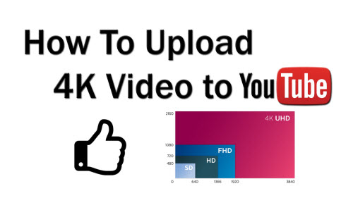 Upload 4K to YouTube