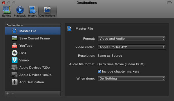 Upload FCP Video to YouTube