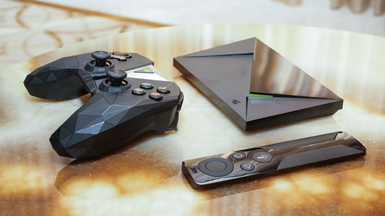Nvidia Shield Pro streaming DVD