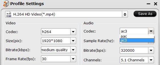 Output AC3 audio codec for Nvidia Shield TV 2017