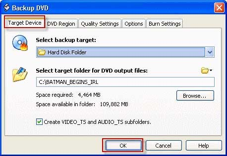 Backup DVD movies with DVD Shrink