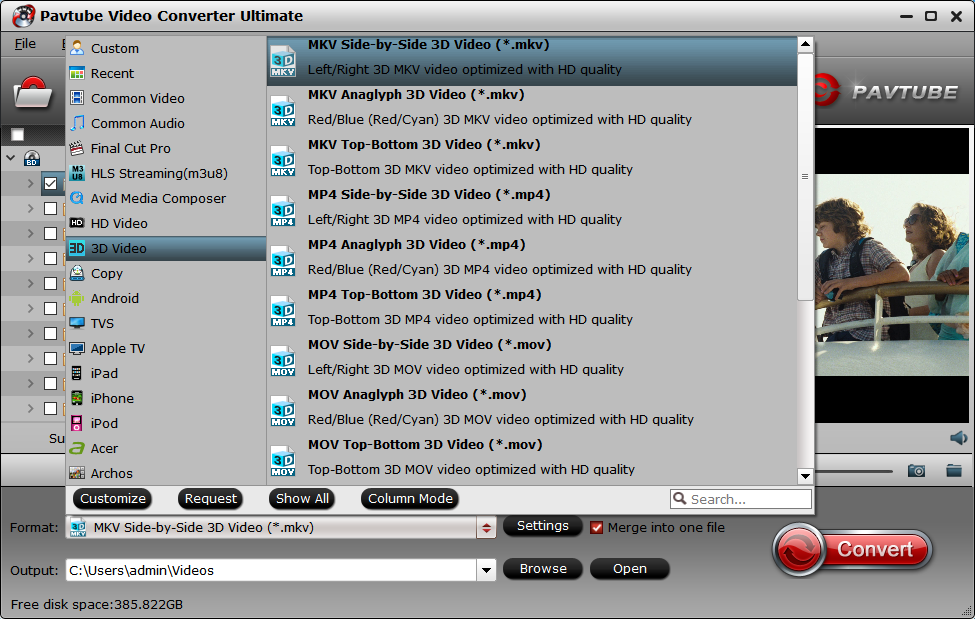 Ripping 3D Blu-ray to MKV Full HD 3D with MakeMKV