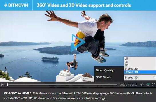 adaptive html5 player