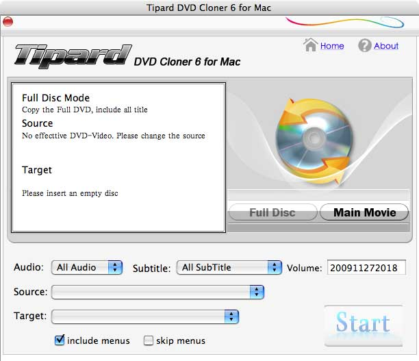 NO2 Mac DVD Copy Tool