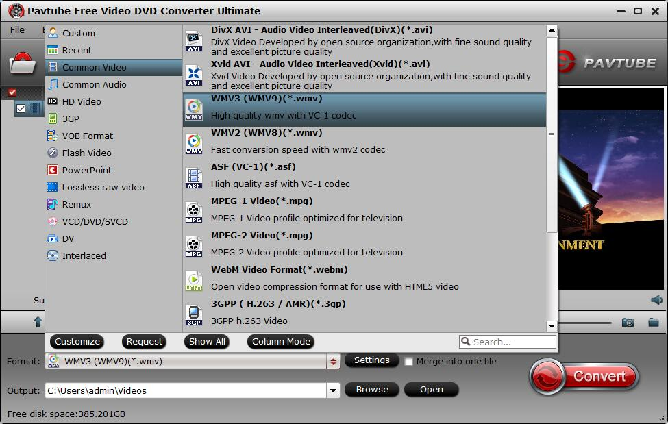 Having problems opening a WMV file