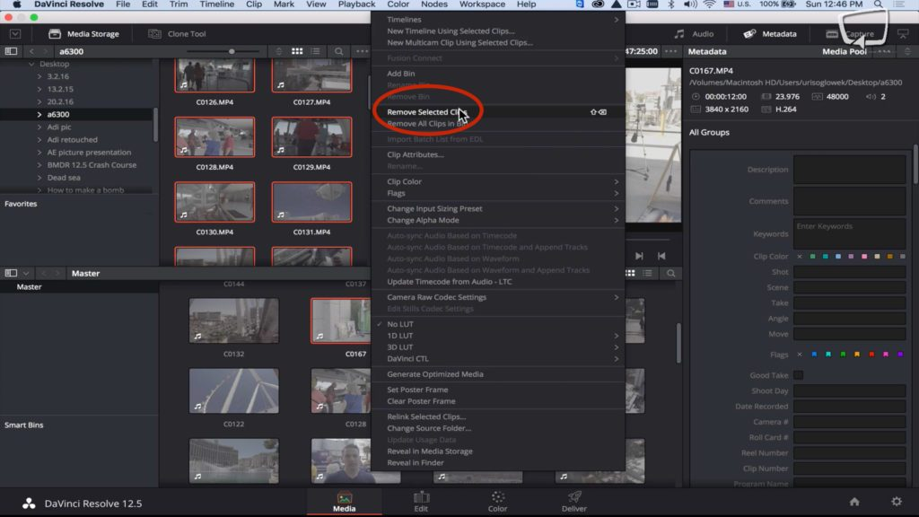 Import Youtube Video to Davinci Resolve for Editing