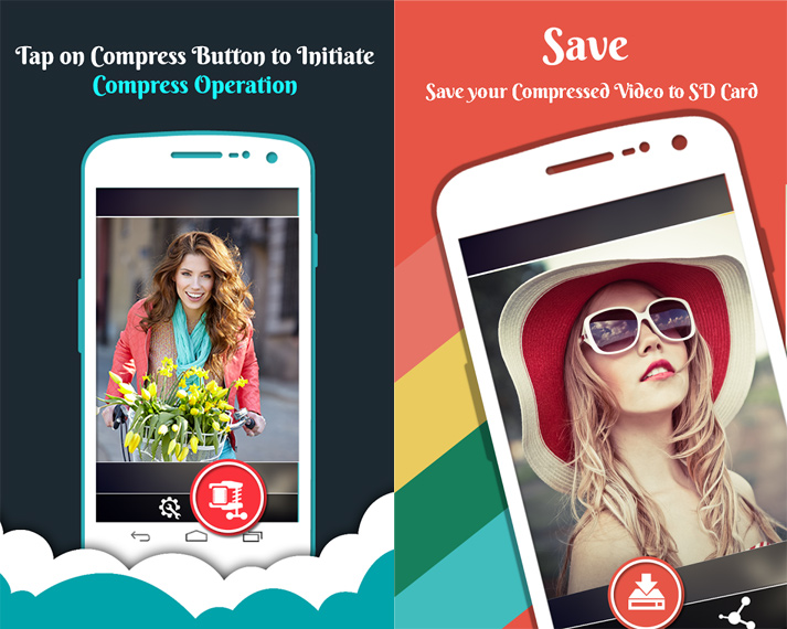 compress mp4 video on android