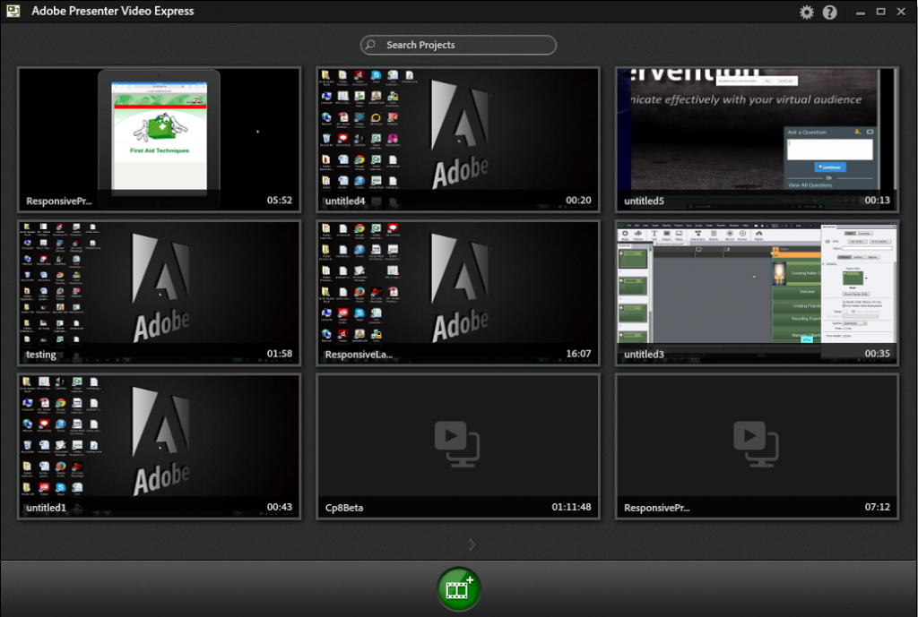 adobe presenter video capture