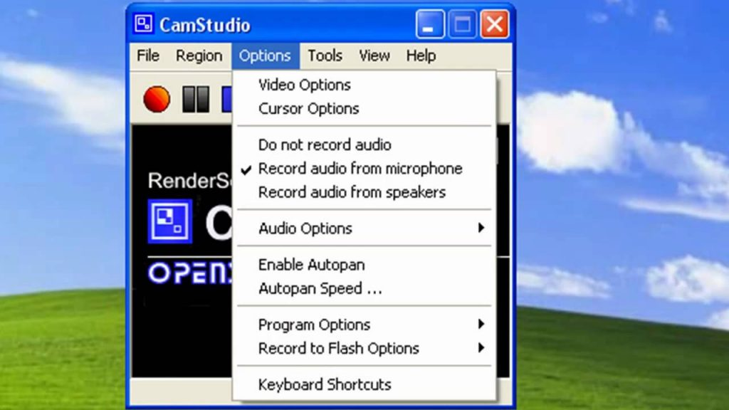 camstudio video capture