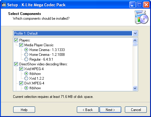 Basics about videos and video codecs in windows media player.