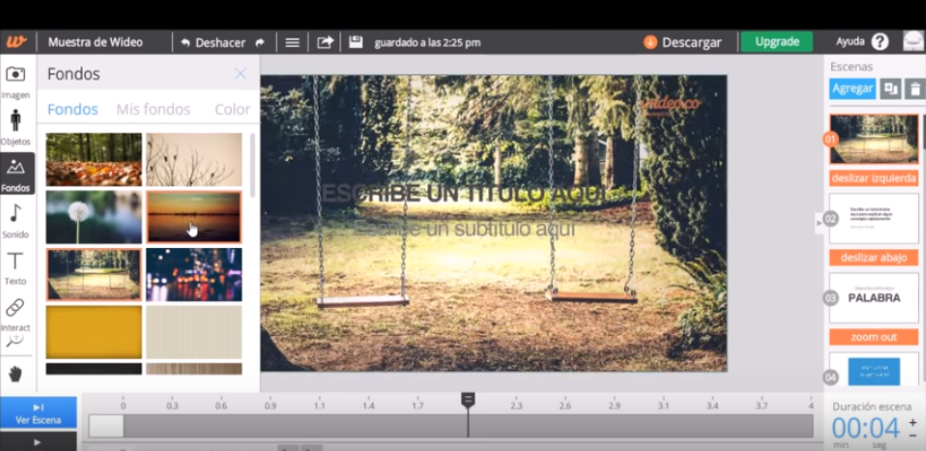 wideo online video editor
