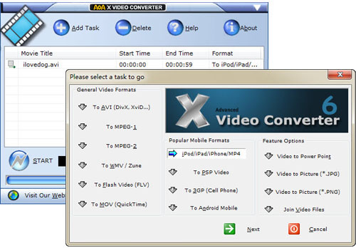 X Video Converter