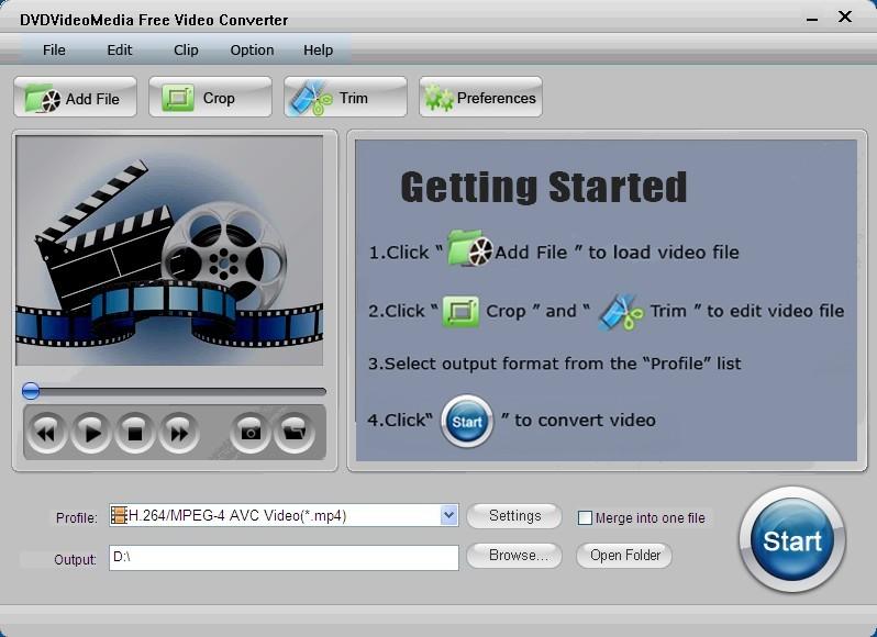 DVDVideoMedia Video Converter